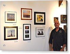 The Salon Exhibit 2 Acrylic Print by Artie Wallace