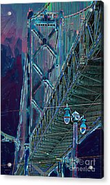 The San Francisco Oakland Bay Bridge Acrylic Print