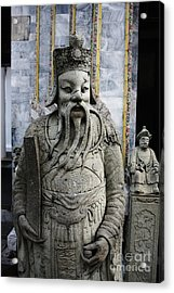 Acrylic Print featuring the photograph The Scholar by Thanh Tran