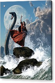 The Sea Witch Acrylic Print by Daniel Eskridge