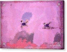 The Seagulls Acrylic Print by Odon Czintos
