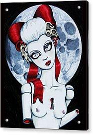 The Secret Acrylic Print by Shayne of the  Dead