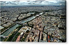 The Seine River 2 Acrylic Print by Edward Myers