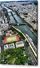 The Seine River Acrylic Print by Edward Myers