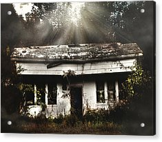 The Shack Acrylic Print by Jessica Brawley