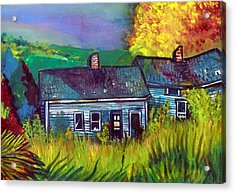 The Shack Acrylic Print by Mindy Newman