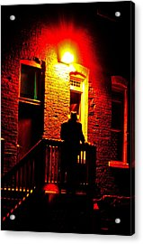 Acrylic Print featuring the photograph The Shadow by Randall  Cogle