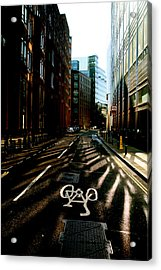The Shady Streets Of The City Acrylic Print by Jez C Self