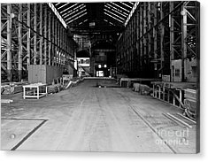 The Shed Acrylic Print by John Buxton