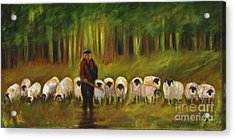 The Sheep Herder Acrylic Print