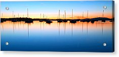 The Silent Fleet Acrylic Print