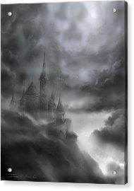 The Skull Castle Acrylic Print