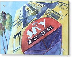 The Sky Room Acrylic Print