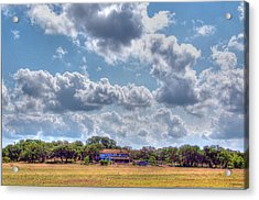 The Sky's The Limit Acrylic Print by Sarah Broadmeadow-Thomas