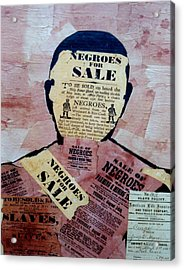 The Slave Acrylic Print by  Andy Tate