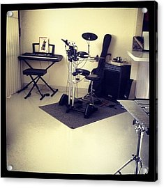 The Small Music Room Is Still In Acrylic Print