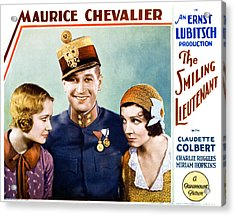 The Smiling Lieutenant, From Left Acrylic Print by Everett