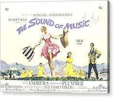 The Sound Of Music, Julie Andrews Acrylic Print by Everett