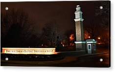 The Southern Baptist Theological Seminary Gate Acrylic Print
