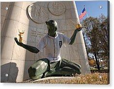 The Spirit Of Detroit Tigers Acrylic Print by Gordon Dean II