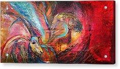 The Spirit Of Ein Gedi Acrylic Print by Elena Kotliarker