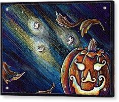 The Spirit Of Halloween Acrylic Print