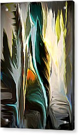 The Spiritual Gathering Acrylic Print by Sherri's Of Palm Springs