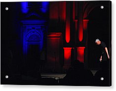 The Stage Manager Acrylic Print by Gunnar Boehme