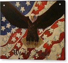 The Stars Of America Acrylic Print by Ruth Ann Murdock
