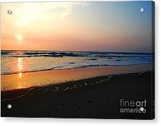 Acrylic Print featuring the photograph The Start Of A Good Day by Linda Mesibov