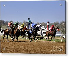 Acrylic Print featuring the photograph The Starter by Nava Thompson