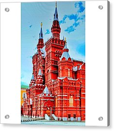 The State Historical Museum (russian: Acrylic Print