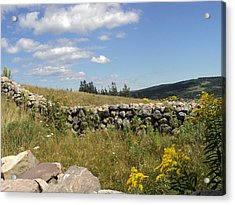 The Stone Fence Acrylic Print