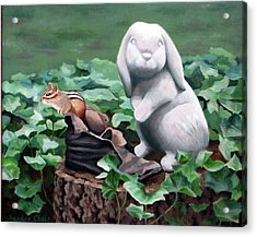 The Stone Rabbit Acrylic Print