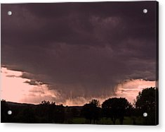 The Storm Is Coming ... Acrylic Print