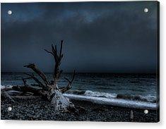 The Storm Acrylic Print by Matt Dobson