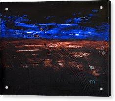 The Storm Acrylic Print by Mauro Celotti