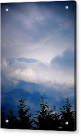 The Storms Brewing  Acrylic Print