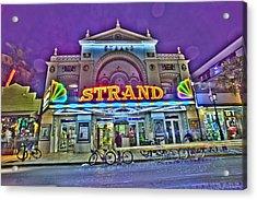 The Strand Acrylic Print