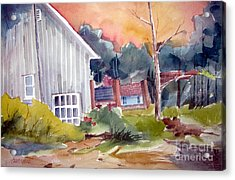 The Studio Acrylic Print by Charlie Spear