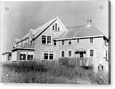 The Summer Home Of President John F Acrylic Print by Everett