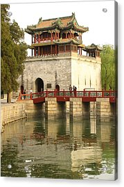 The Summer Palace Acrylic Print by Richard Nowitz