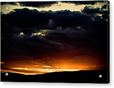 The Sun Beats Below Acrylic Print