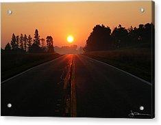 The Sun Road Acrylic Print