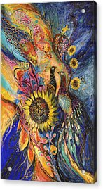 The Sunflower ... Visit Www.elenakotliarker.com To Purchase The Original Acrylic Print
