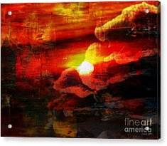 The Sunny Side Of Life Acrylic Print by Fania Simon