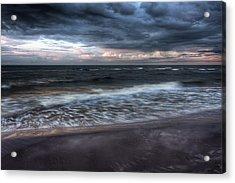 The Surf Acrylic Print by Matt Dobson