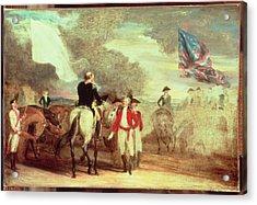 The Surrender Of Cornwallis At Yorktown Acrylic Print