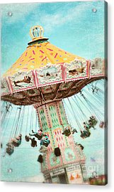 The Swings 2 Acrylic Print by Sylvia Cook