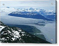 The Taku Glacier, Near Juneau Acrylic Print by Kenneth Garrett